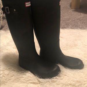 Hunter Rain Boots Size 7, Womens